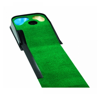 TimeForGolf - Golfers Club puttovací koberec Deluxe Putting Mat with Hazards 2,7m