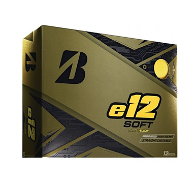 TimeForGolf - Bridgestone balls e12 Soft Yellow matt (žluté) 3-plášťové 3ks