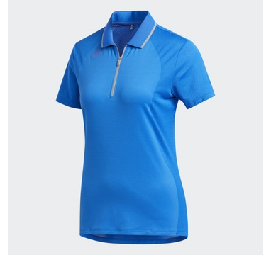 TimeForGolf - Adidas W polo Aeroready Engineered modré